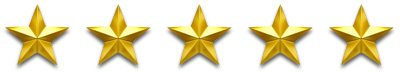 Maids2000 - Why Us? - The 5 Star Treatment - 5 Gold Stars