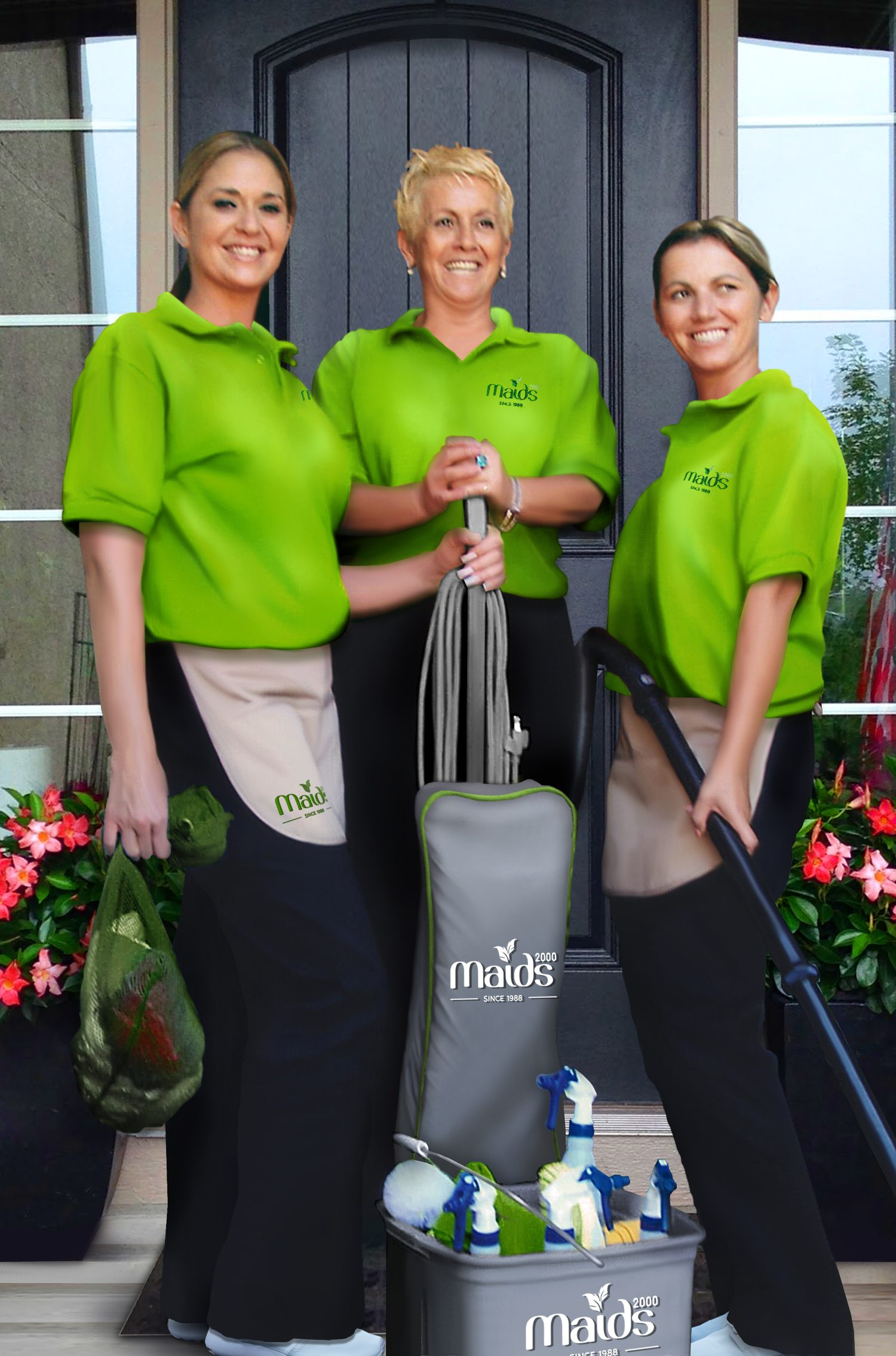 Maids2000 - Why Us? - Our Professionals are Highly Trained, Friendly, Efficient and Trustworthy. Our Team is Bonded and Has Full Liability Insurance.