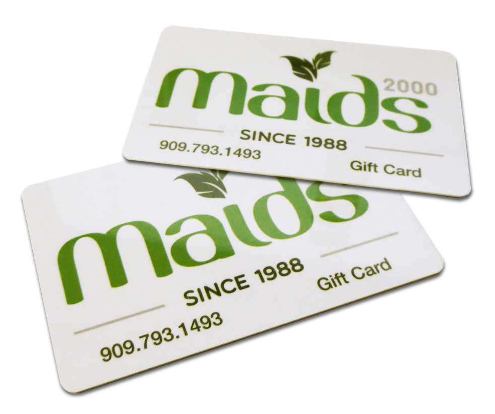 Maids2000 - Special Offers - Cleaning Gift Cards