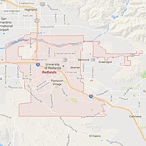 Redlands Maid Service | California | Maids2000 | Redlands - Google - Map