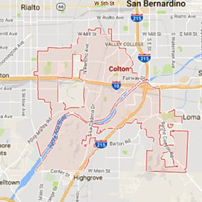 Colton Maid Service - Maids2000 House Cleaning - California - google - maps