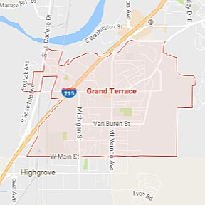 Grand Terrace Maid Service - California - Maids2000 House Cleaning - google - maps