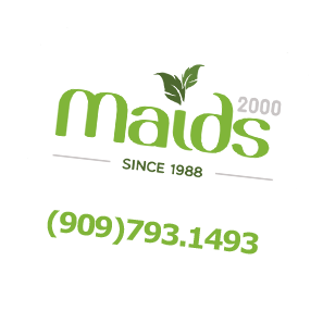 Maids2000 logo and Phone Number - Phone - Areas We Serve - Contact Us